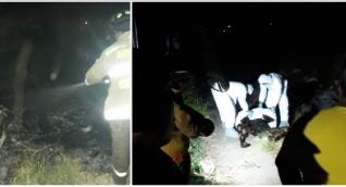 El cuerpo fue hallado hacia las 8:30 p.m. de este jueves.