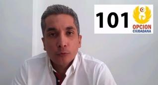 Franklin Lozano va con el número 101 en la lista de la Cámara de Opción Ciudadana al Magdalena.