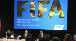 Reunión de la FIFA.