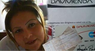 Ángela María Prado Lozano es señalada de utilizar documentos falsos para estafar.
