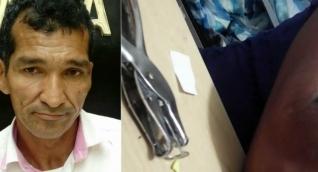 Julio Antonio Maldonado De las Salas/A la derecha, imagen del video de la niña contando el abuso.