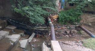 Acometidas ilegales en el trayecto del Río Piedra y Río Manzanares a la ciudad de Santa Marta.