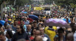 Desde el inicio del paro los maestros han realizado diversas actividades de protesta, incluidas gigantescas marchas en Bogotá y otras ciudades del país.