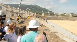 Obras de los escenarios deportivos de los Juegos Bolivarianos avanza a buen ritmo.