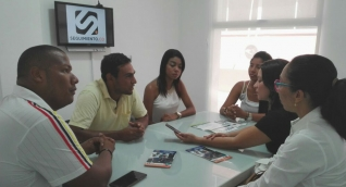 Coordinadores académicos de IDEA visitaron Seguimiento.co e invitaron a los samarios y magdalenenses a inscribirse.