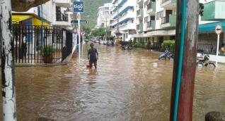 Calles del sector de El Rodadero