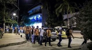 """""""Legendarios"""" realizaron un recorrido por diferentes sitios de Santa Marta para ayudar a los habitantes de la calle."""