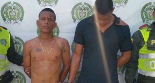 Los capturados en flagrancias están sindicados por los delitos de daño en bien ajeno, hurto y tráfico y fabricación de armas de fuego.