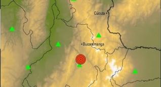 Detalles del epicentro del temblor