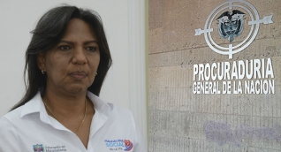Nidia Rosa Romero, secretaria de Educación del Magdalena, será indagada por la Procuraduría.