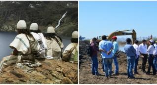Los indígenas trabajan de la mano de Corpamag en proyectos para recuperar las cuencas de los ríos.