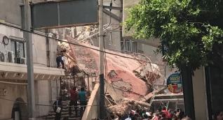 Destrucción en el centro de Cuernavaca, Morelos