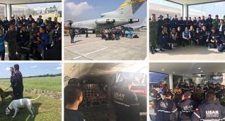 La misión se desplazará en un vuelo de la Fuerza Aérea Colombiana (FAC).