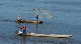 Los pescadores fueron capacitados para adquirir mayores destrezas en su oficio.