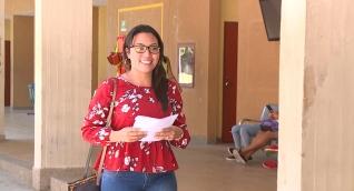 Liseth Peñalver Almanza, estudiante de la Universidad del Magdalena.