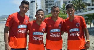 Rafael Pulido; Yerson Pardo; Edgardo Pardo y Jair Zuleta.