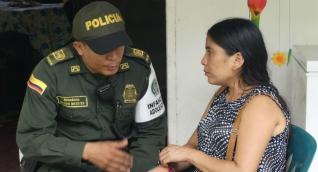 Yuliana Sanguino, madre de Alberto Cardona Sanguino, de 6 años, desaparecido desde el 20 de septiembre en la vereda Tigrera.