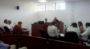 Audiencia de los empleados de Drummond en Ciénaga.