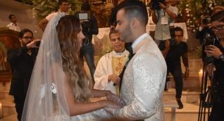 Kimberly Reyes y Federico Severini se dieron el sí por segunda vez.
