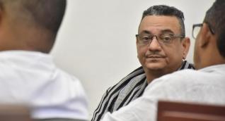 José Luis Aduén Uribe en audiencias.