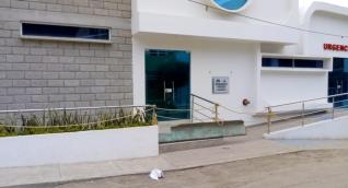 El centro de salud de La Paz aún no está funcionando.