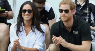 Meghan Markle y su esposo el príncipe Enrique de Inglaterra