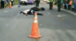 Diego Nicolás Correa Camacho fue el joven que murió en el lugar.
