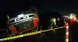 El percance fue en el kilómetro 6 de la vía Barranquilla- Ciénaga-Barranquilla.