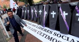el 2018 es el año en El que más número de homicidios se han cometido contra los defensores de derechos humanos