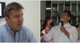 Eduardo Díaz-Granados y Gustavo Petro.
