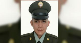 El patrullero de la Policía, Wilkar Fernando Rodríguez Ramírez.