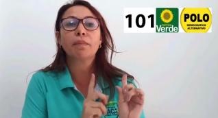 Patricia Caicedo, candiata a la Cámara de Representantes por el Magdalena.