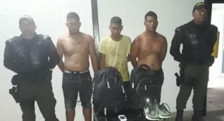 Dos de los capturados son venezolanos.