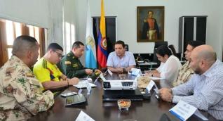 Consejo de seguridad realizado este viernes.