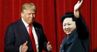 Donald Trump y Kim-Jong-Un