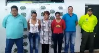 Capturados en Chibolo.