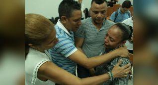 Luz Divina Cabarcas, madre de Gabriela Andrea, joven violada y asesinada en Barranquilla.