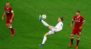 Chilena de Gareth Bale pone a ganar al Real Madrid.