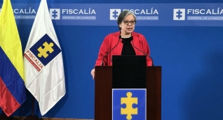 La Vicefiscal General, María Paulina Riveros, entregó el informe.