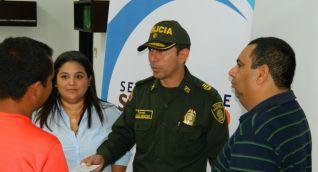 La asistencia a las fuentes se realiza con Ministerio Público a través de la Personería Distrital.