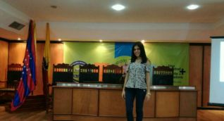 Tatiana Franco, estudiante de psicología de séptimo semestre.