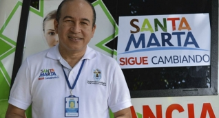 Omar Suárez Prasca, gerente de la ESE.