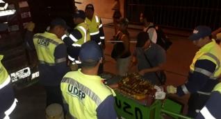 Operativos de la UDEP durante el inicio de la temporada turística.