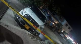 el patrullero aceleró la camioneta y atropelló a ocho personas.