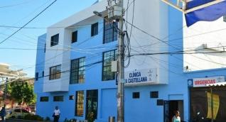 Los estudiantes fueron atendidos en la clínica la Castellana.