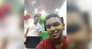 Luis David Martínez, joven cienaguero que estudia Ingeniería Electrónica, en Barranquilla, gracias a una beca de Prodeco.