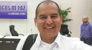El periodista Mauricio Orjuela.