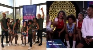 Los Pimienta en el programa en Bogotá.