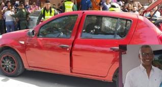Víctor Manuel Mendoza Mendoza conducía el vehículo.