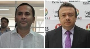 Concejal José Manuel Mozo - Senador Eduardo Pulgar.